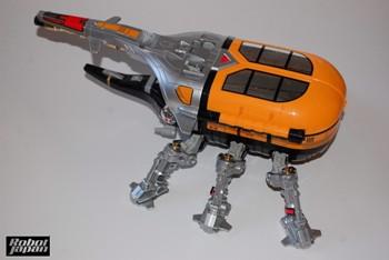 Beetleborg Mania, Vehicle Style