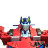 Battle Damage Optimus Prime Animated Deluxe Class