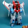 MP-11 Starscream Masterpiece Review by Gold