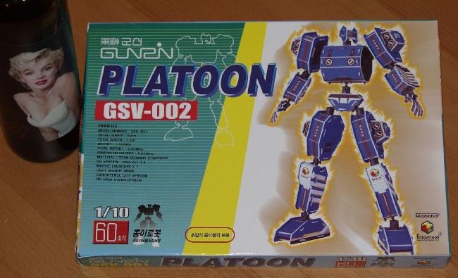 Platoon GSV-001 Styrafoam Robot