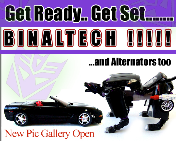New Binaltech / Alternators Pics Up :o)