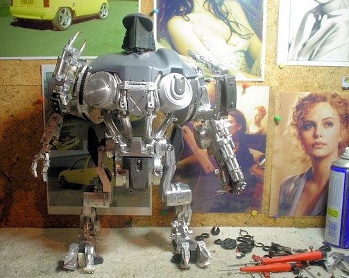 Custom Robot Robocain