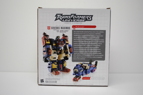 TF Universe SentinelMaximus Exclusive MIB 2